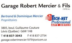 Garage Robert Mercier & Fils (1979) inc.
