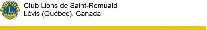 Club Lions de Saint-Romuald